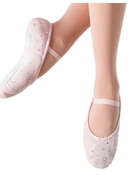 Bunnyhop Velvet Ballet Flat -Child