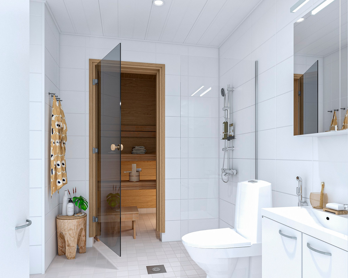 3d-visualisointi kylpyhuone