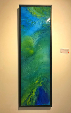 'Above and below' Resin picture
