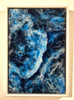 'Crashing waves' Resin picture