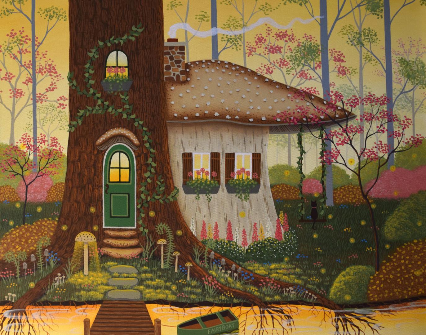 Woodland Dream Home