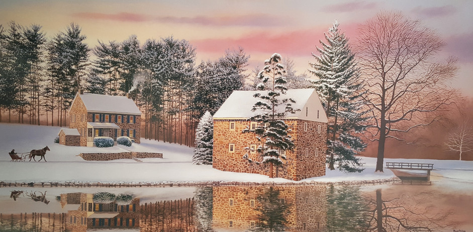 Winter at Gring's Mill