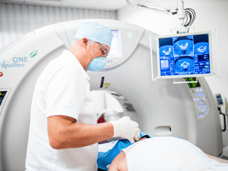 CT-gesteuerte Schmerztherapie