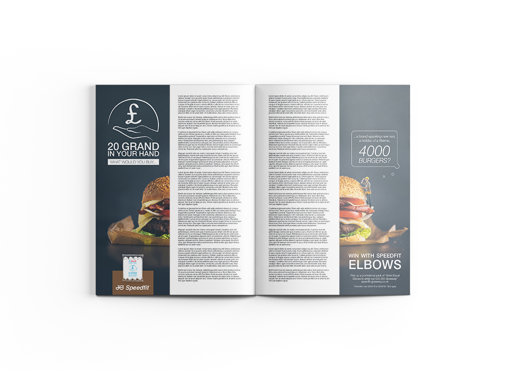 Bookends Ad - Burger