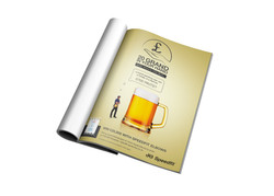 Full Page Ad - Beer