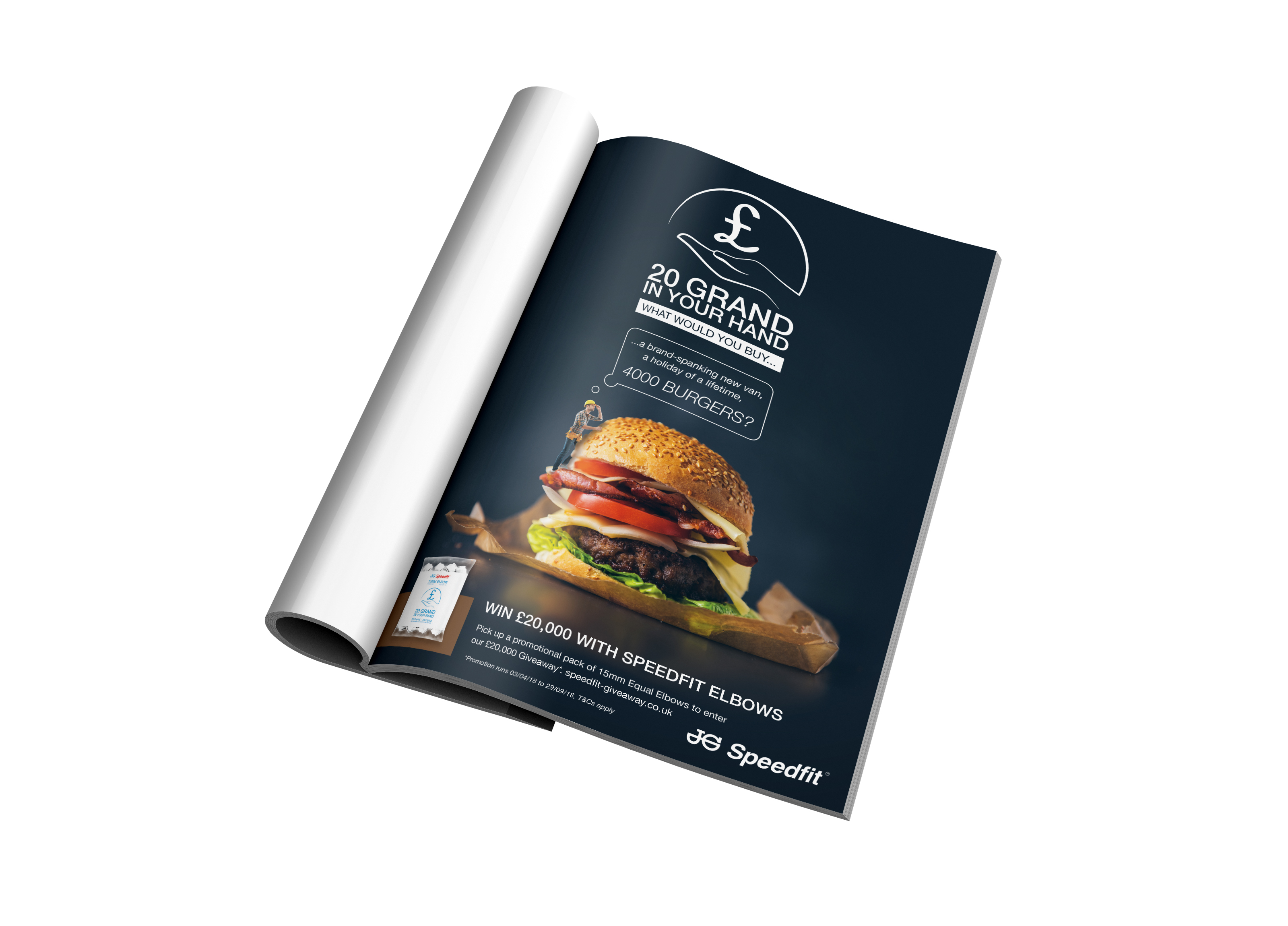Full Page Ad - Burger
