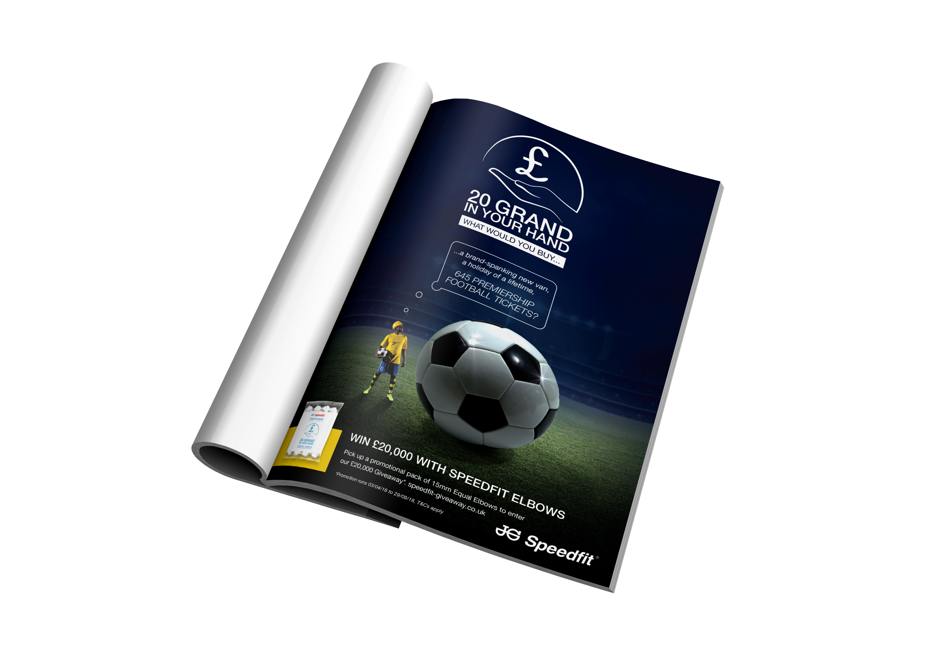 Full Page Ad - Football