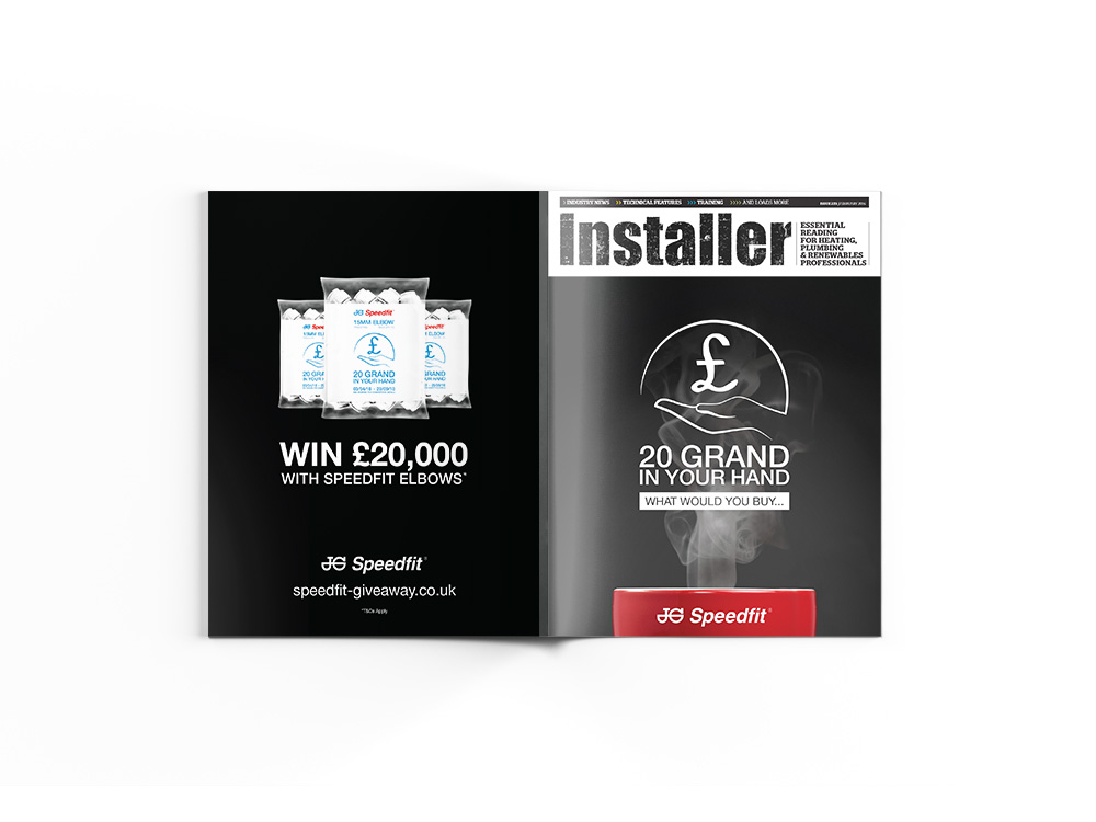 Installer Magazine - Cover Ad