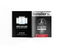 Installer Magazine - Cover Ad