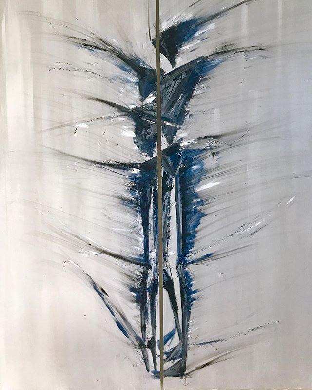 A cuore aperto- olio su tela 180_140 cm