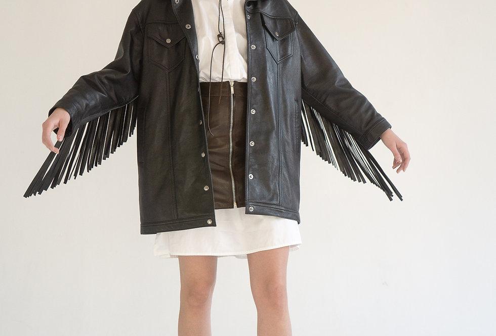 Куртка женская с бахромой