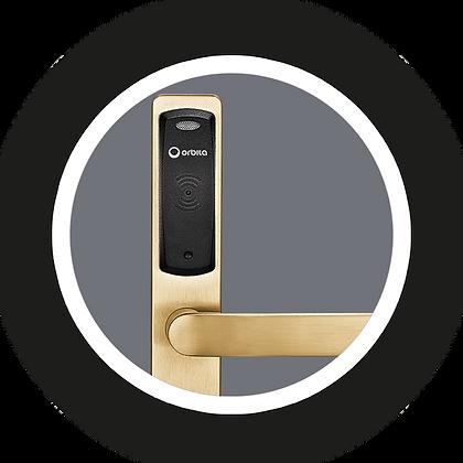 Orbita E3161P - Κλειδαριά RFID - Χρυσό