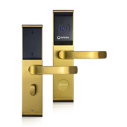 Orbita E3142 - Waterproof RFID Lock, Gold