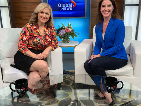 COVID19 School Closures: Keep Kids on Track GLOBAL NEWS MORNING & Jennifer Valentyne