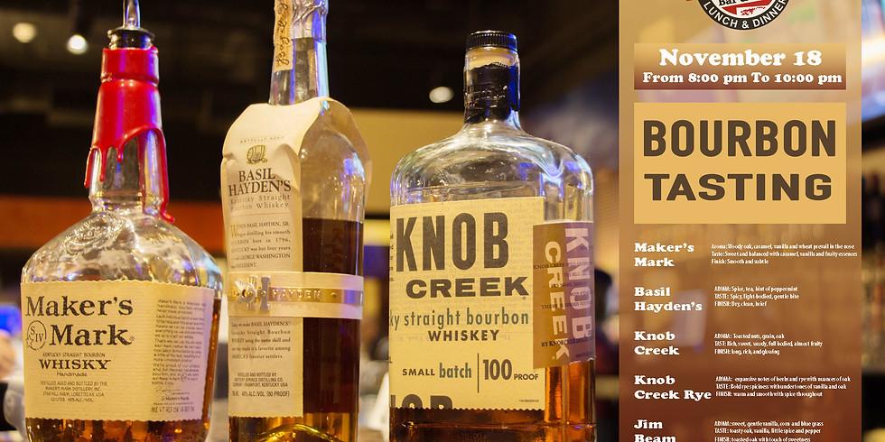 Bourbon Whiskey Tasting