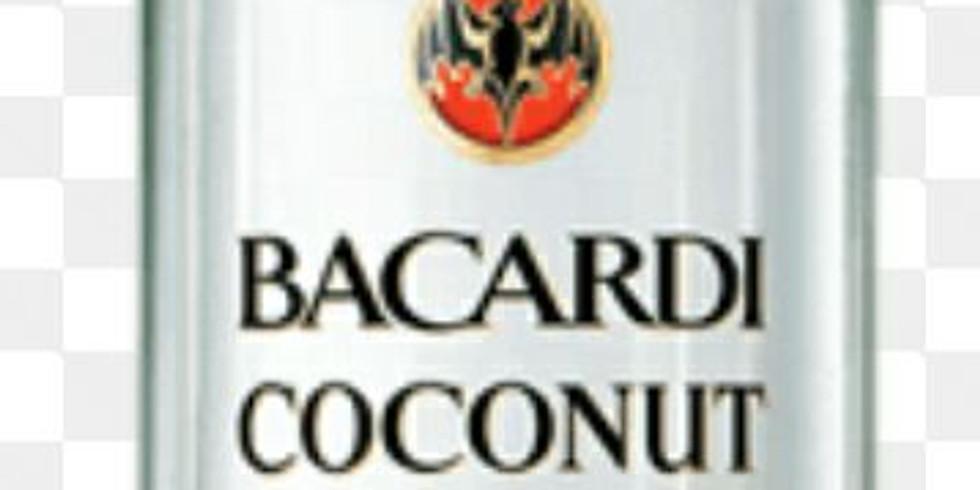 Bacardi Coconut Rum Tasting !!!
