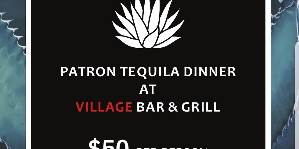 Patron Tequila Dinner (Outdoors)