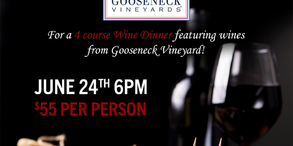 4 Course Meal Wine Pairing Dinner