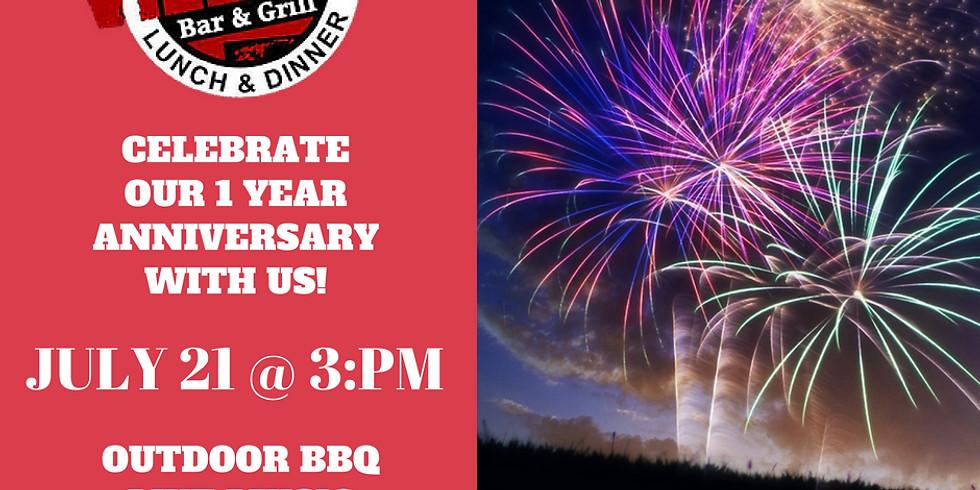 Village Bar & Grill's 1 Year Anniversary