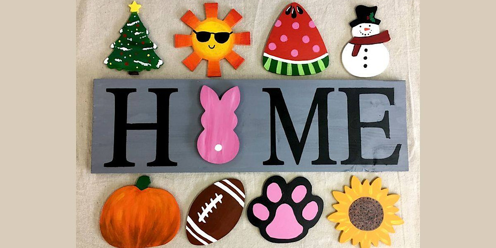 All Seasons Home Sign at Rocco's Restaurant & Bar