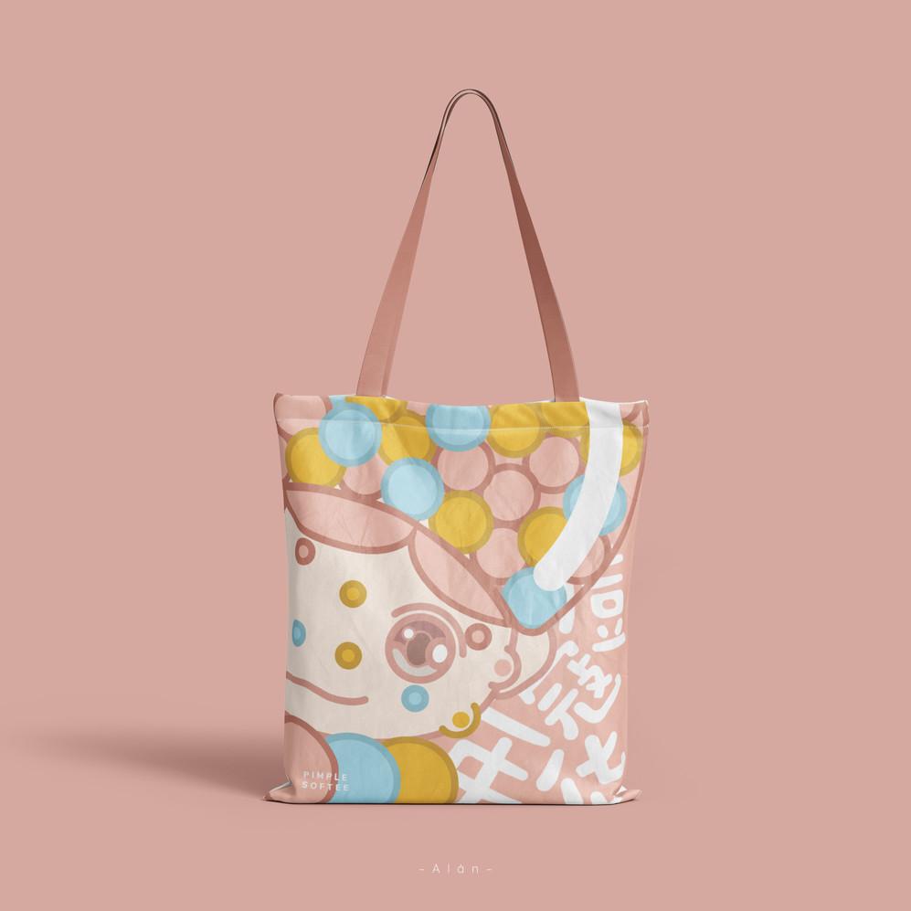 Pimple Softee Tote Bag