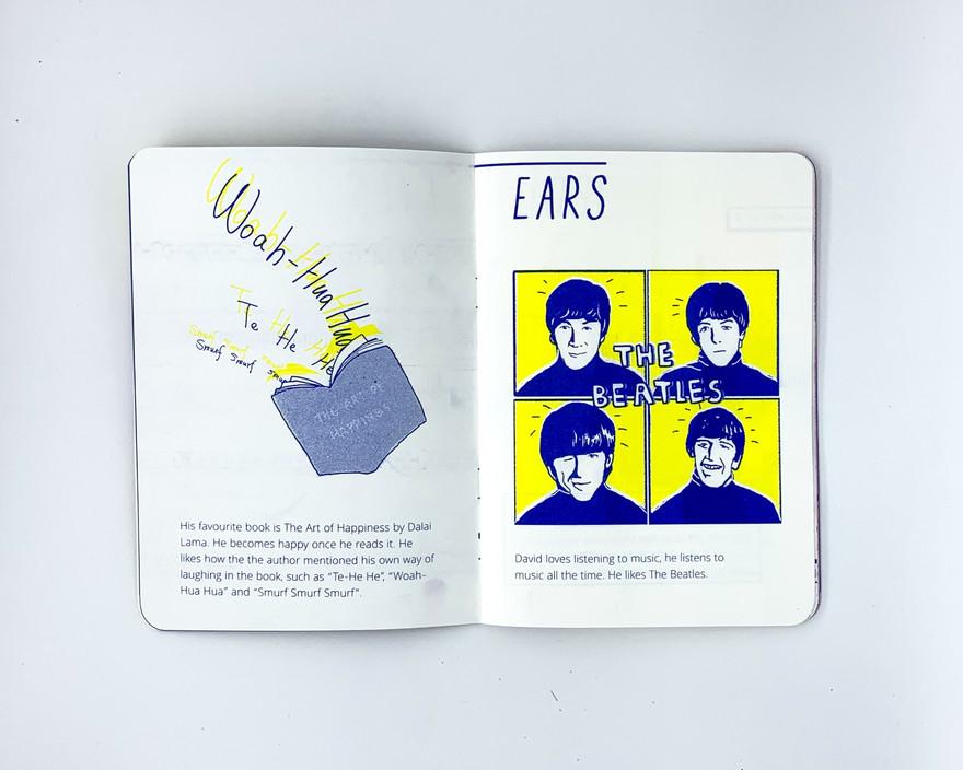 David's Story - Ears