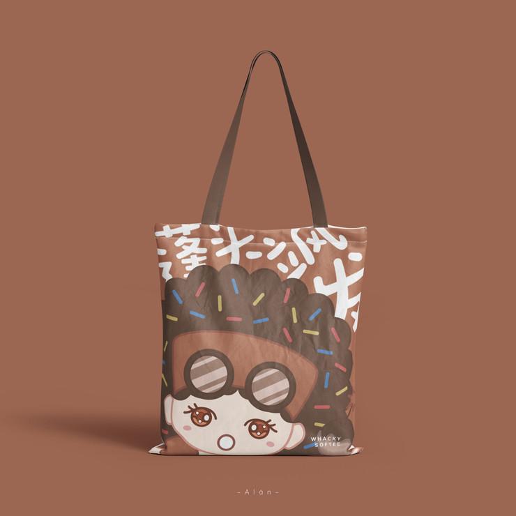 Frizz Softee Tote Bag
