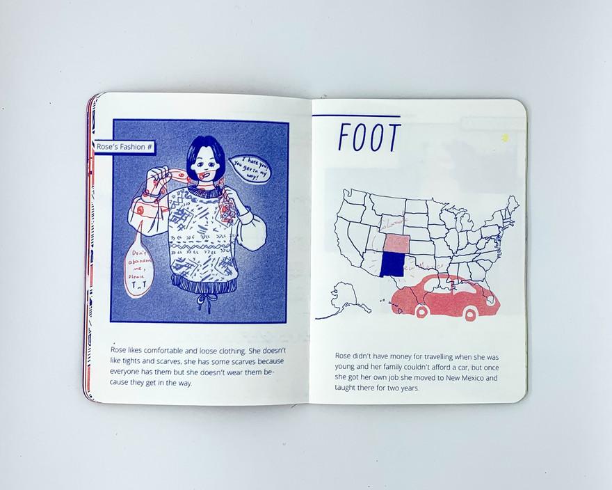 Rose's Story - Foot