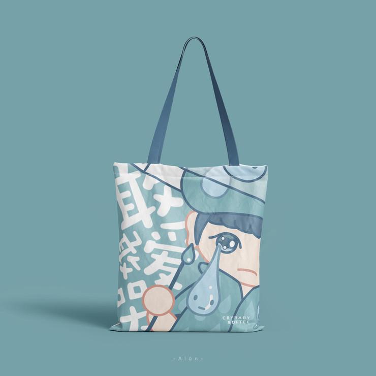 Crybaby Softee Tote Bag