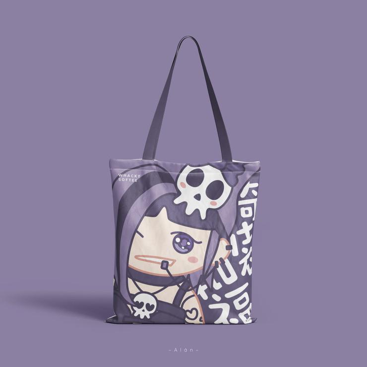 Whacky Softee Tote Bag