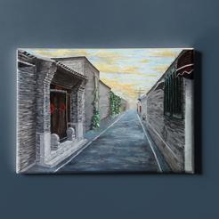Hutong Painting
