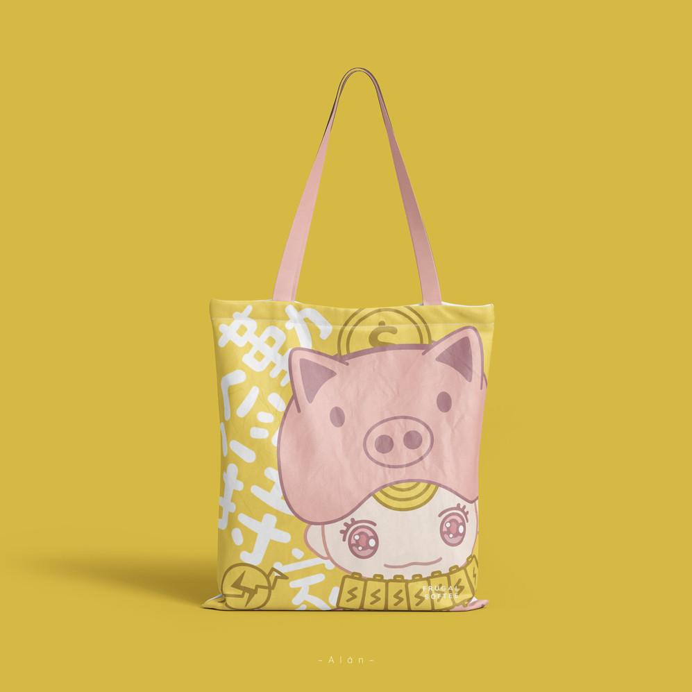 Frugal Softee Tote Bag