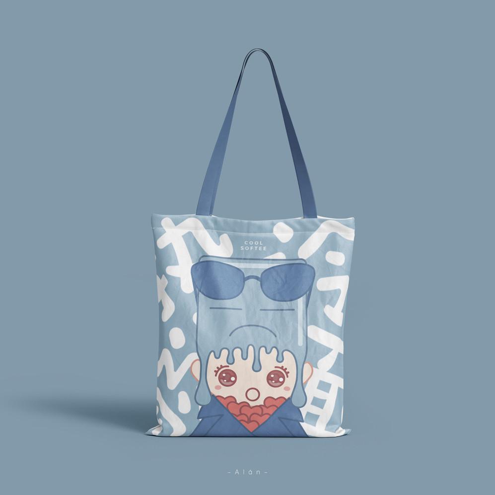 Cool Softee Tote Bag