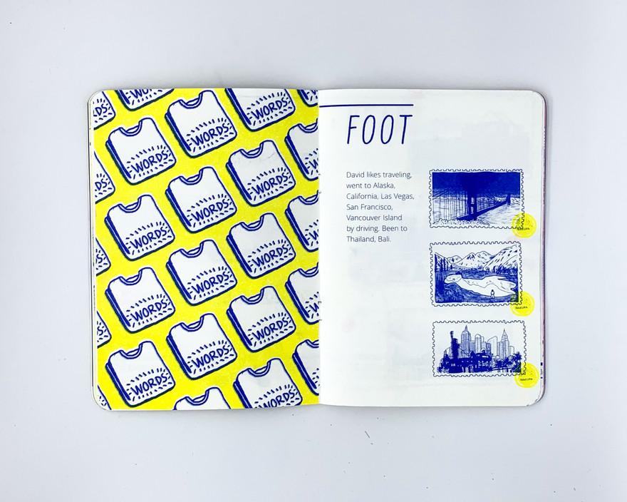 David's Story - Foot