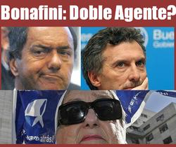 Bonafini, doble agente