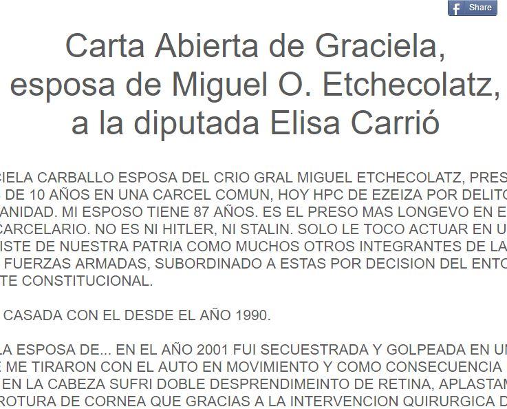 Por Graciela Carballo
