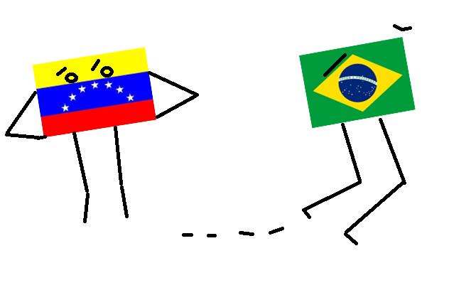 Brasil elude a Venezuela
