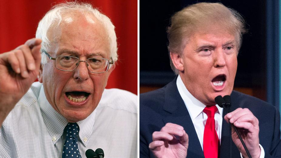 Sanders - Trump