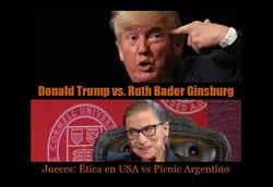 Trump vs Ginsburg