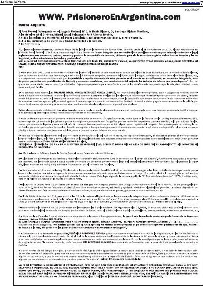 Solicitada Diario La Nueva