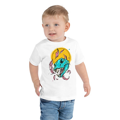Cat Skull Illustration - Toddler Tee - By The Graphix Chick