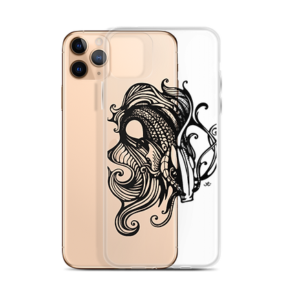 "Hand Drawn Illustration ""Fishy"" - iPhone Case - By Jessica Esper"