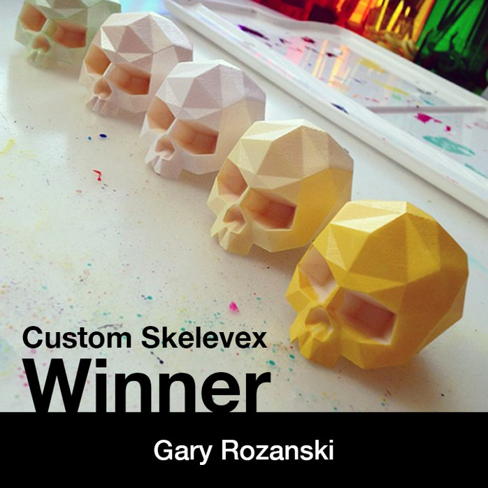 Winner of the Skelevex Contest Announced!