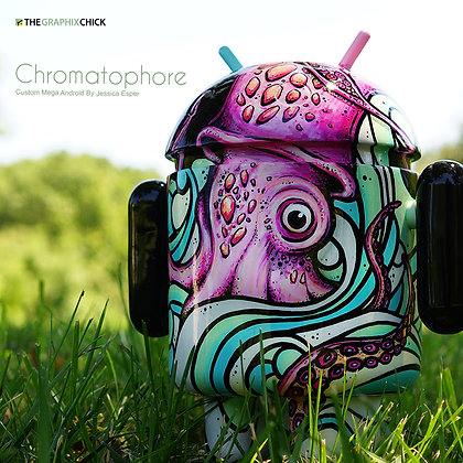 "Custom MEGA Android ""Chromatophore"""