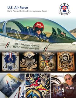 USAF Jet Headrests