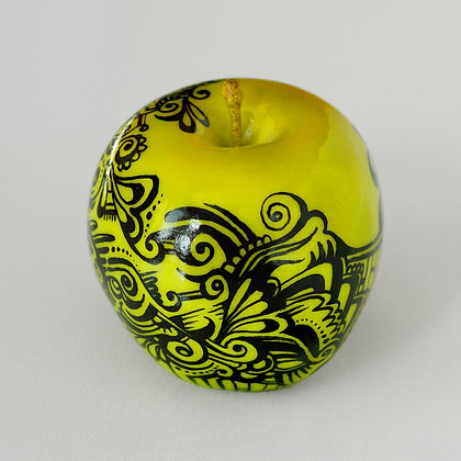 Hand Painted Artificial Apple