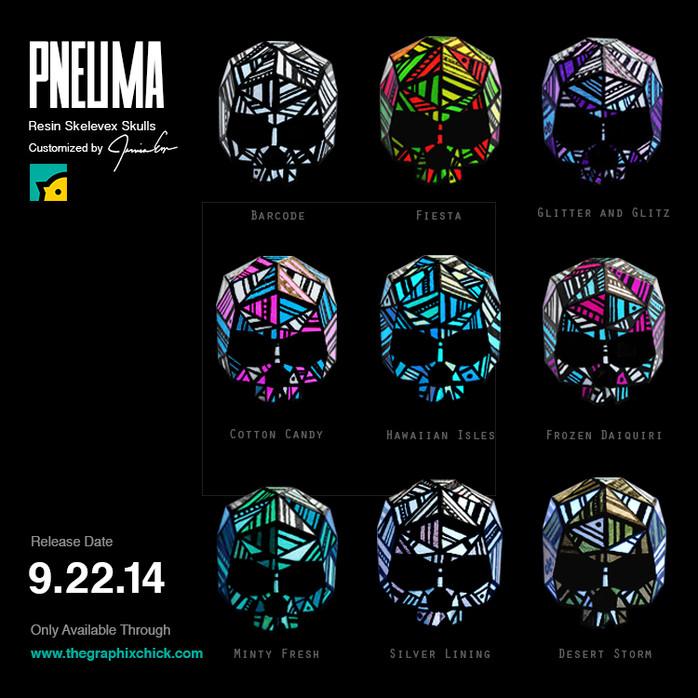 PNEUMA SKULLS - Skelevex Skull series