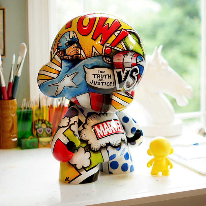 "Mega Munny project ""Mega 52"" now on Behance"