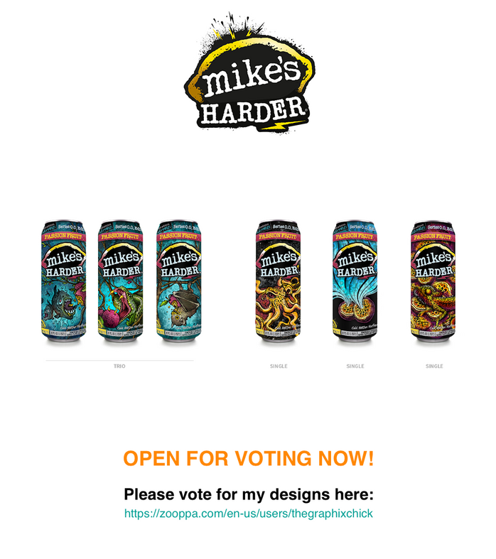 Mikes Harder Design Contest Entries