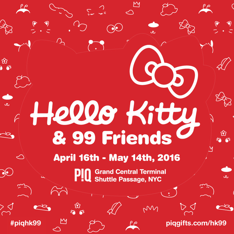 Hello Kitty & Friends Group Art Show Featuring The Graphix Chick